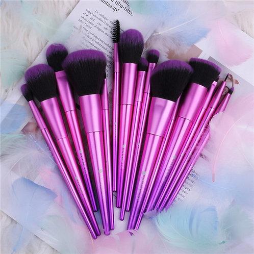 Set de brochas Basic Purple