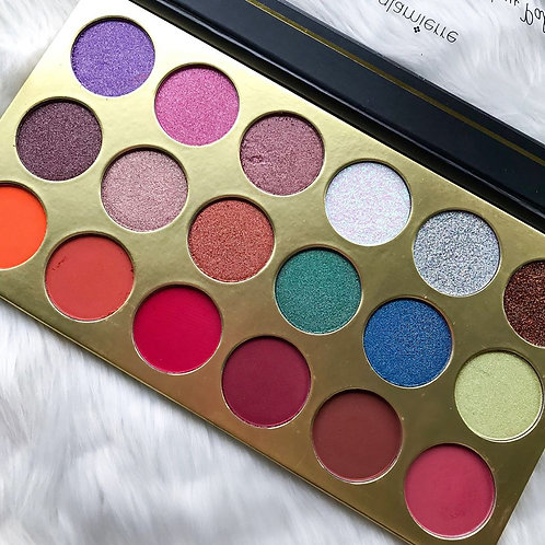Paleta Artist Glam Eyeshadow & Glitter Palette