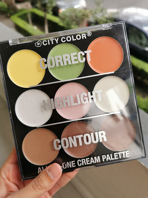 Paleta All-In-One Cream Palette