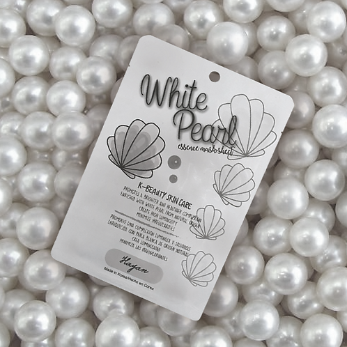 Mascarilla Perla blanca Hayan