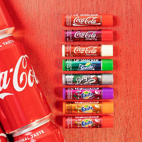 Set de bálsamos Coca Cola Party Lip Smacker