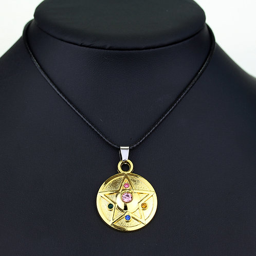 Collar Sailor Moon dorado