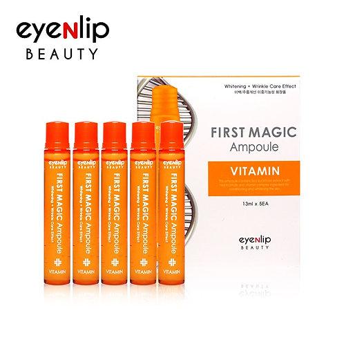 Ampolletas faciales First Magic Vitamin