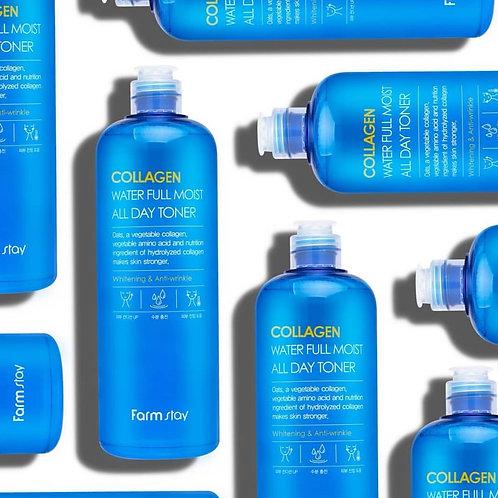 Tónico Collagen Water Full Moist All Day Toner