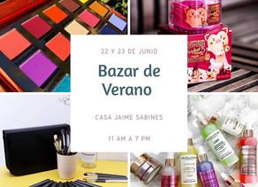 ¡Estamos a 3 dias del Bazar de Verano!