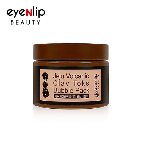 Mascarilla volcánica Jeju Volcanic Clay Toks Bubble Pack