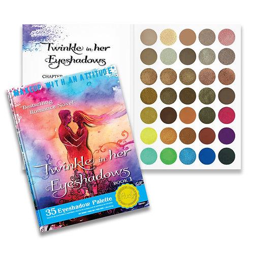 Paleta Twinkle in her Eyeshadows - Book 1