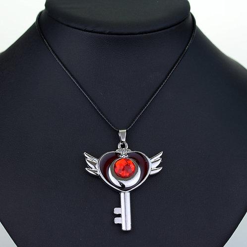 Collar Sailor Moon rojo