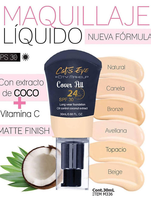 Cat's Eye Base Cover All Foundation | iluvit