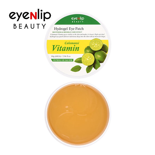 Parches para contorno de ojos Calamansi Vitamin Hydrogel Eye Patch