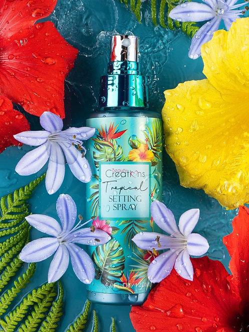 Fijador de maquillaje aroma tropical