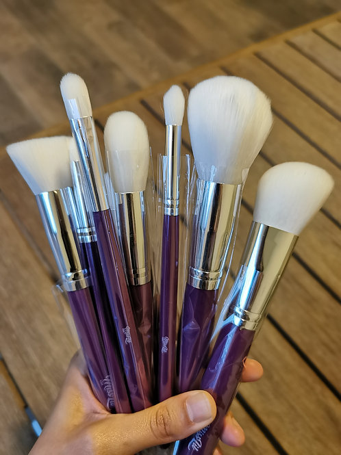 Set de brochas Purple