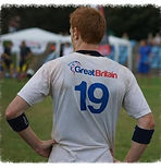 Richard Harris, European Ultimate Frisbee Champion