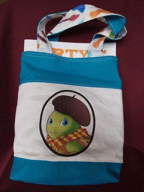 Arty's Tote Bag Reversible