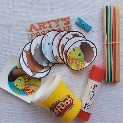 Arty's Stick & Play Pack