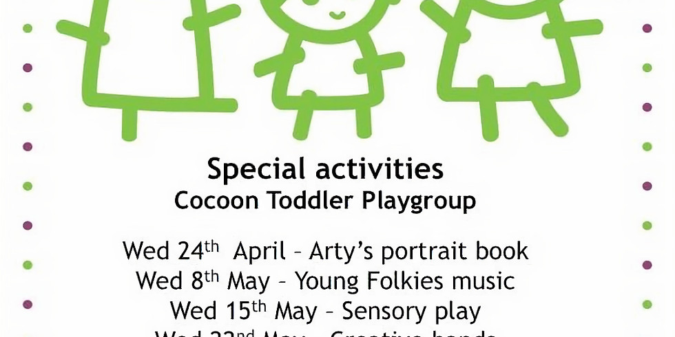 Arty's Portrait @ Dagenham Library with Cocoon Toddler Play Group