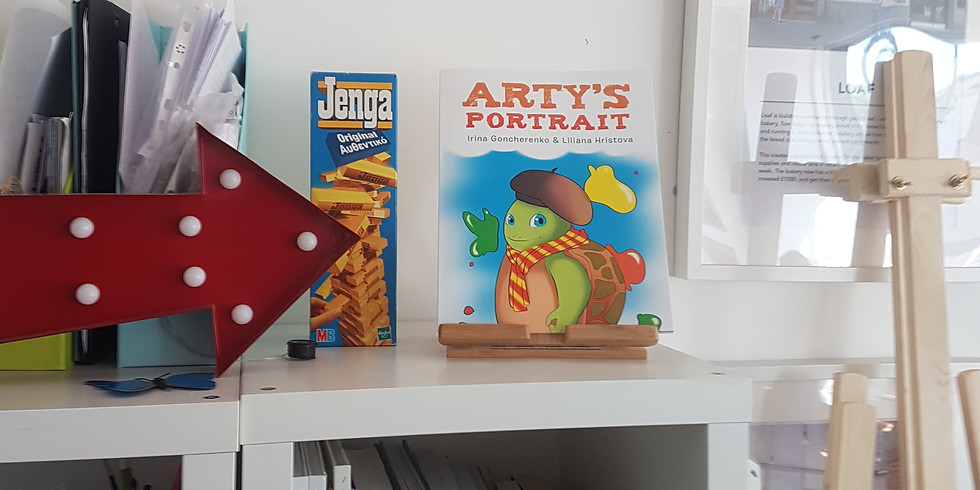Arty's Portrait Book Launch and Sale
