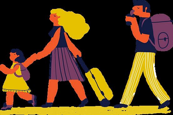 Viagem em família