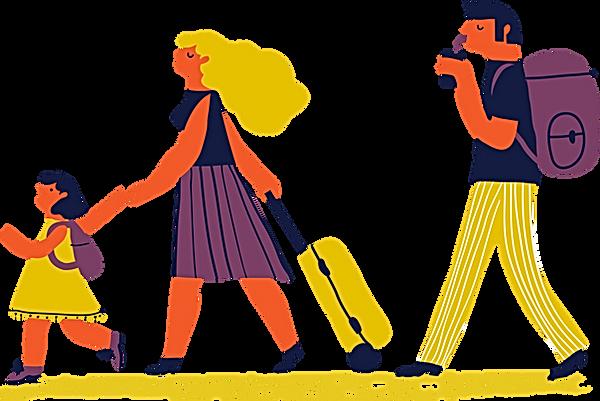 Voyage en famille