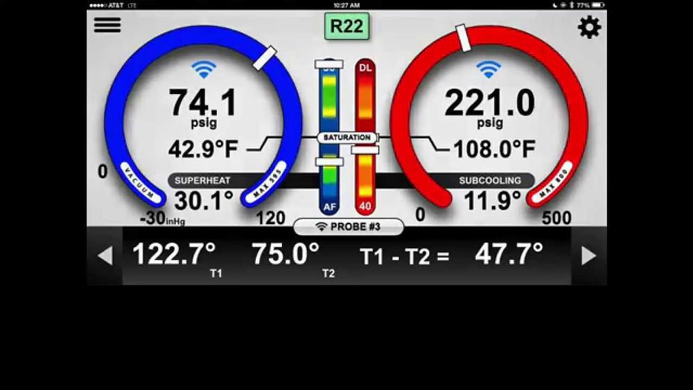 Remote Refrigerant Pressure Monitoring