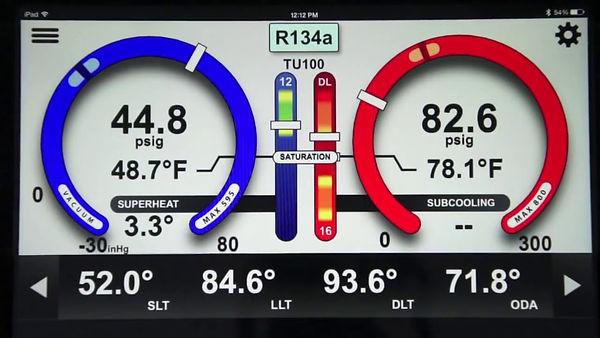 Remote Refrigeration Pressure Monitoring