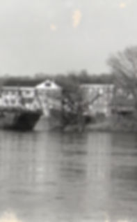 Frenchtown bridge facing town b&w.jpg