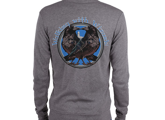 Walking with Wizards Zip Front Sweatshirt