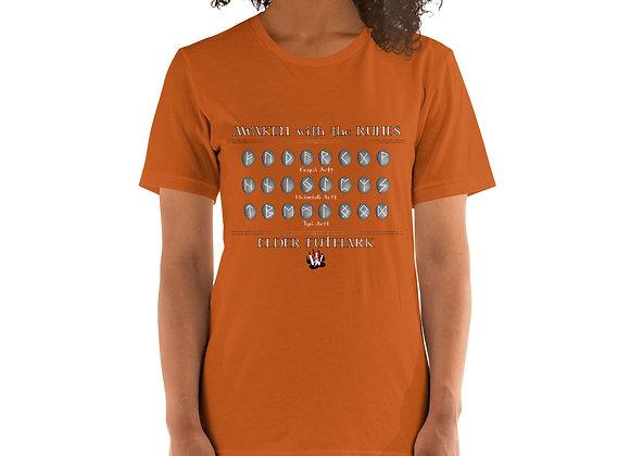 Awakening with the Runes Unisex Short Sleeve Shirt