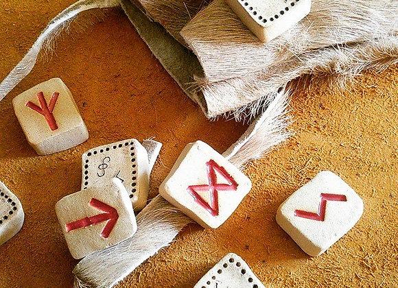 Custom Ceramic Rune Set