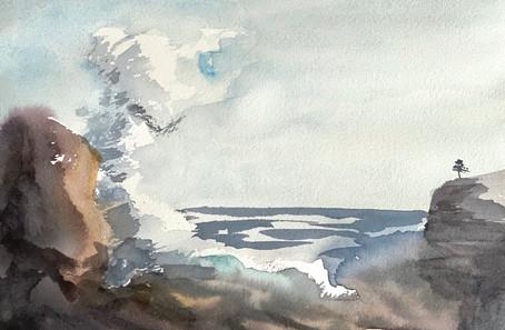 Keith Emerling - Crashing Wave