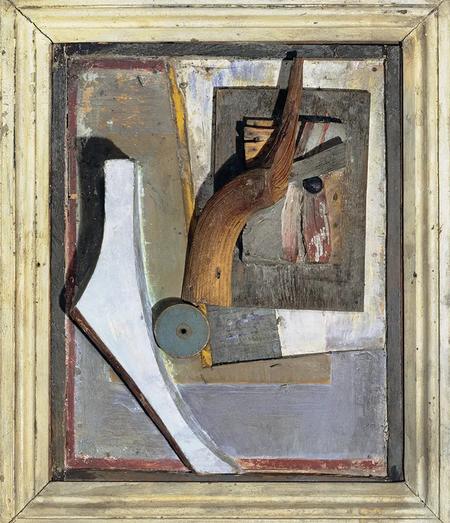 Kurt Schwitters - Untitled Relief