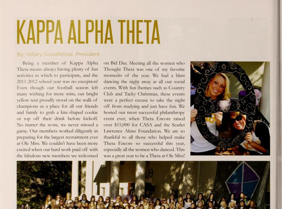 Ole Miss Yearbook 2012