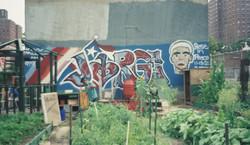 Harlemworld1 Community Garden Memorial