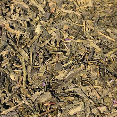 Thé vert à la Violette