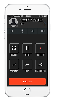 ios and android voice over ip application