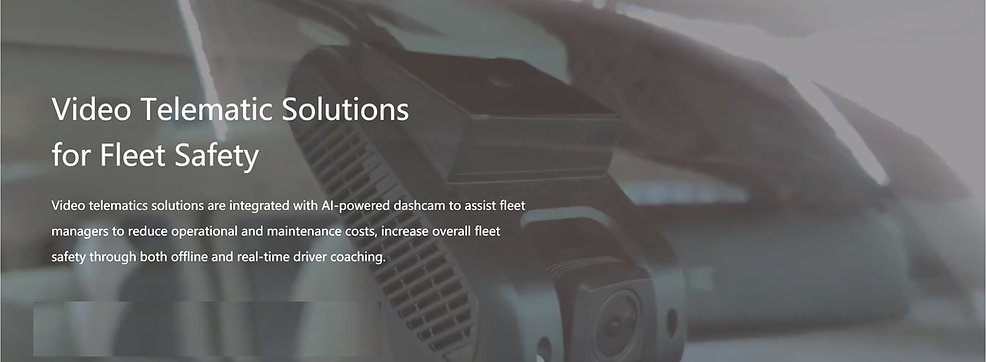 Video telematics solutions are integrated with AI-powered dashcam to assist fleet managers to reduce operational and maintenance costs, increase overall fleet safety through both offline and real-time driver coaching.  GPS Tracking with Real time video