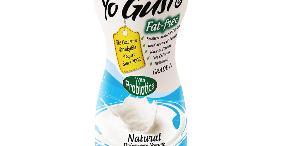 Natural Vanilla  (Fat Free, Probiotics, Fresh from Florida)
