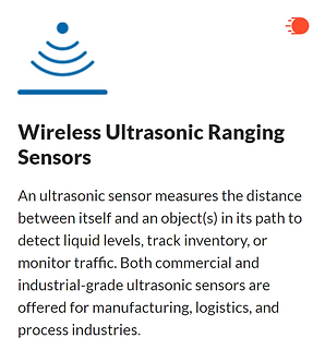 Wireless Ultrasonic Ranging Sensors : Level, distance & object detection made easy. Ultrasonic Sensors install within 15 minutes to measure liquid levels, track inventory status (based on distance), and detect traffic. Should the status for any of these variables deviate from user-defined limits, a sensor alert is sent via text, email, or call. www.wtizense.com