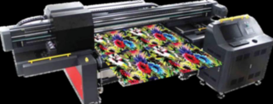 Digital reactive printing