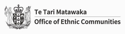 Office of Ethnic Communities Logo (Black