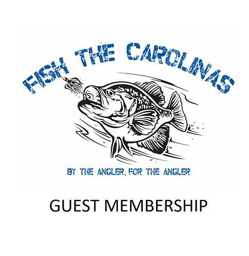 Single Tournament Guest Membership