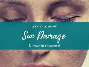 What REALLY helps to reverse sun damage