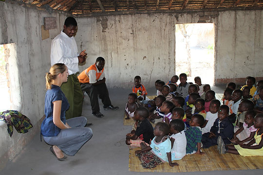 Anniek Verholt in Malawi