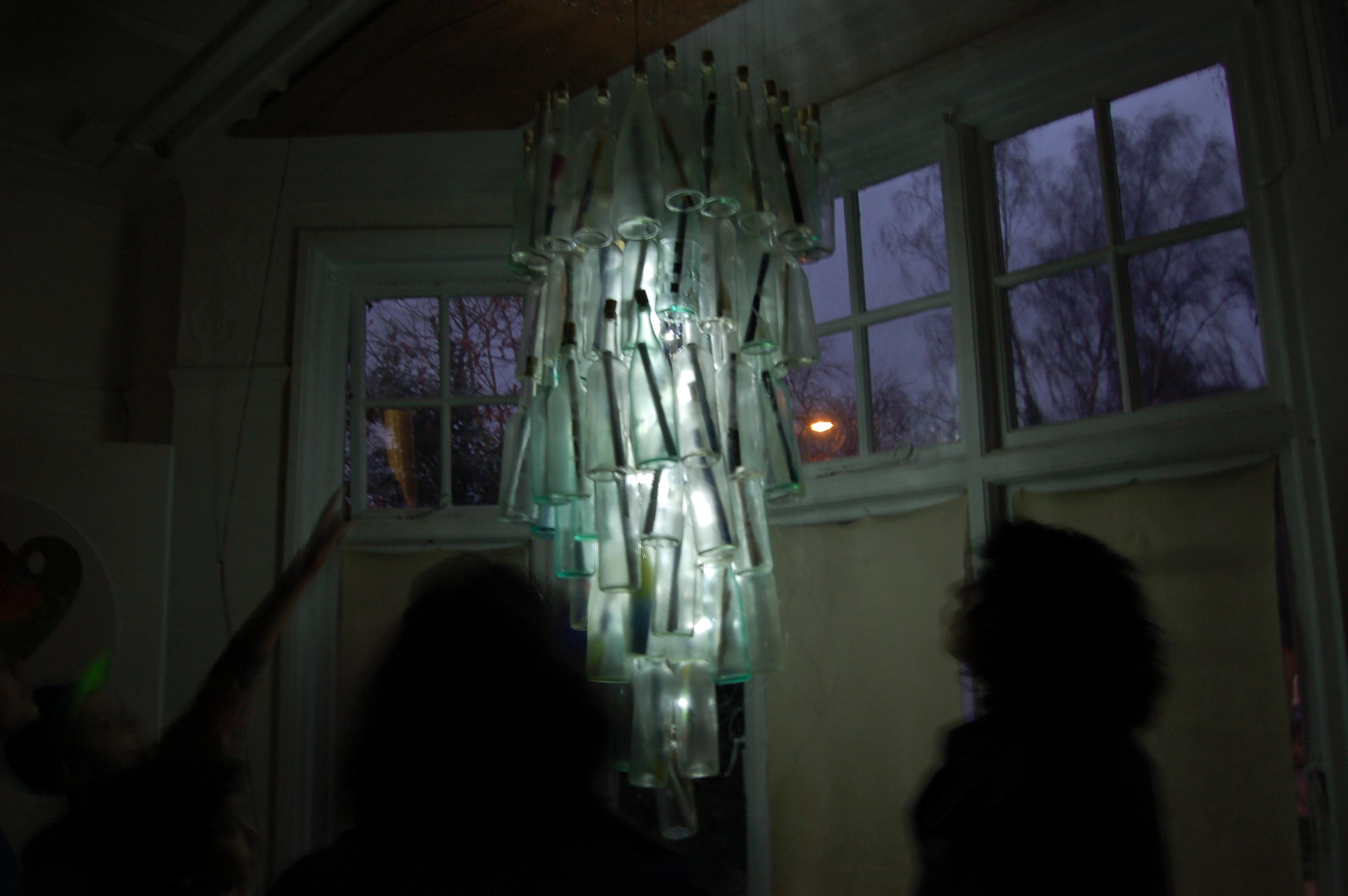 Peace chandelier