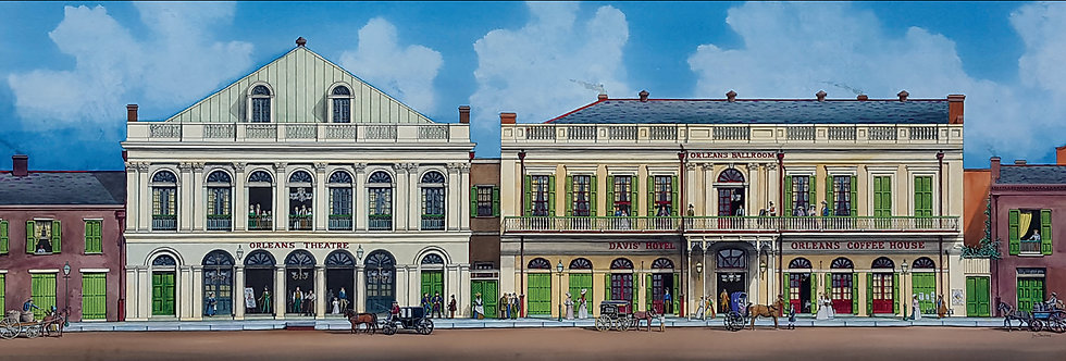 Orleans Theatre and Orleans Ballroom  (SOLD)