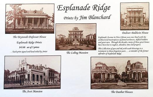 Esplanade Ridge - Set of 5 Prints