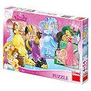 Disney Princess 4 shaped Puzzles - BTG Dubai Toy Distributor