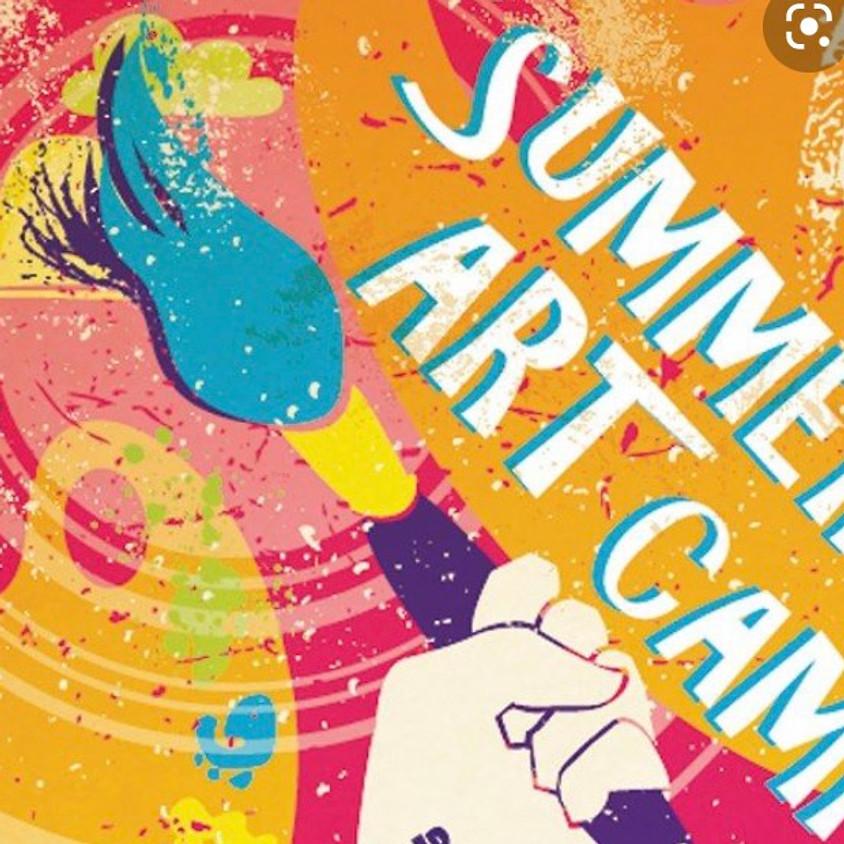 Kids' summer art camp