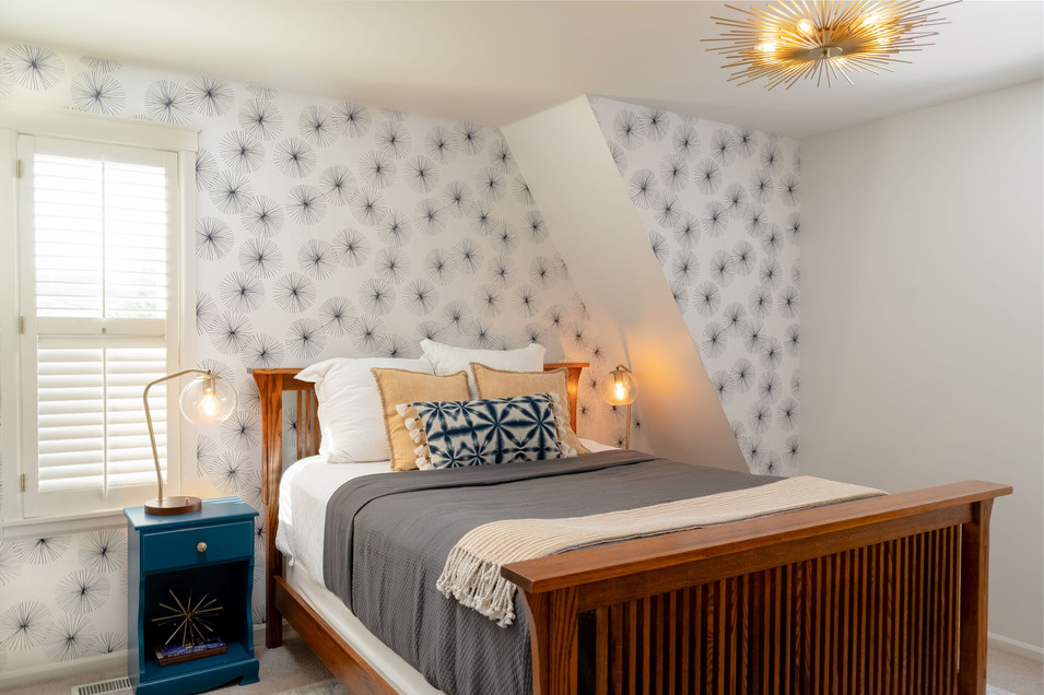 master suite - bed