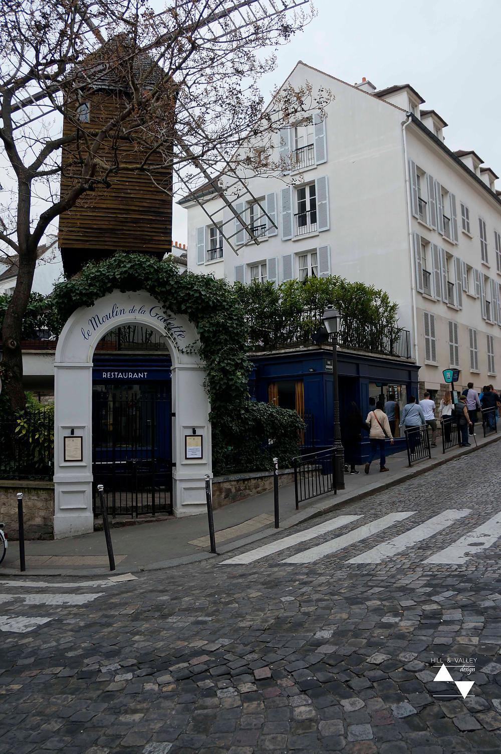 le Moulin de la Galette - Montmartre